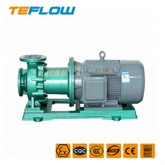 Acid-proof magnetic pump